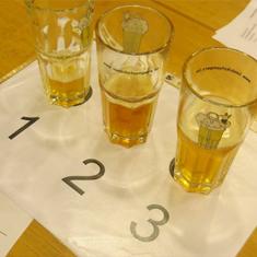 'Test forms' tasting