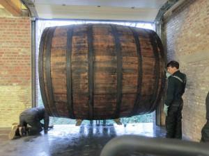 Oud Beersel wooden casks 2015