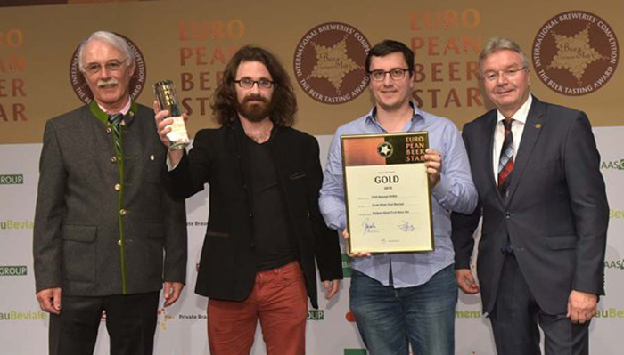 European Beers Star 2015 For Oud Beersel