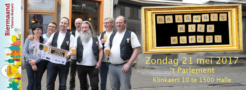 Brabants Bier Buffet - De Lambikstoempers bezetten 't Parlement