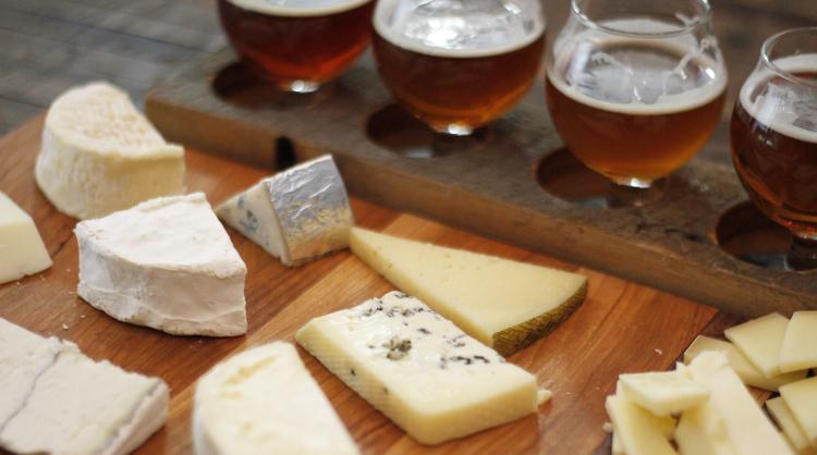 kaas en bier