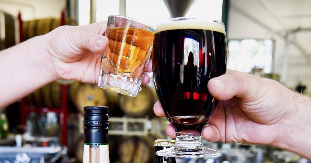 Tasting Whisky & Beer