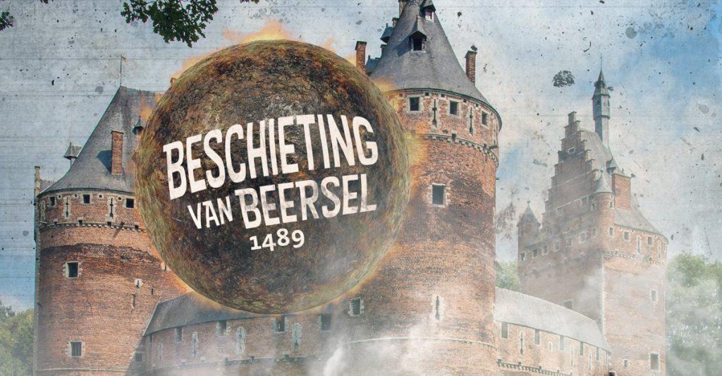Beschieting Kasteel van Beersel 2018