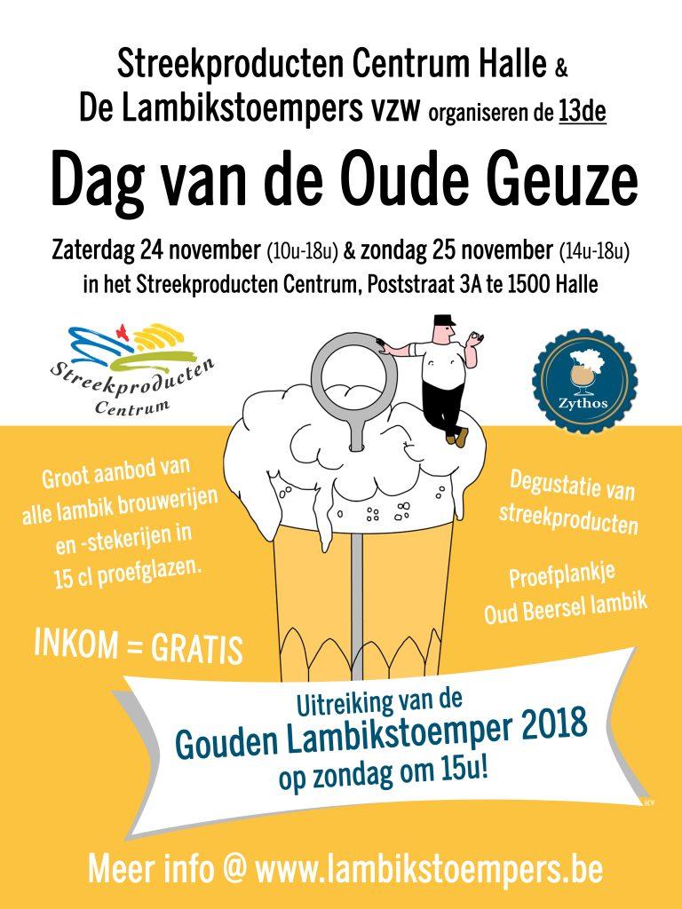 Dag van de Oude Geuze 2018 flyer