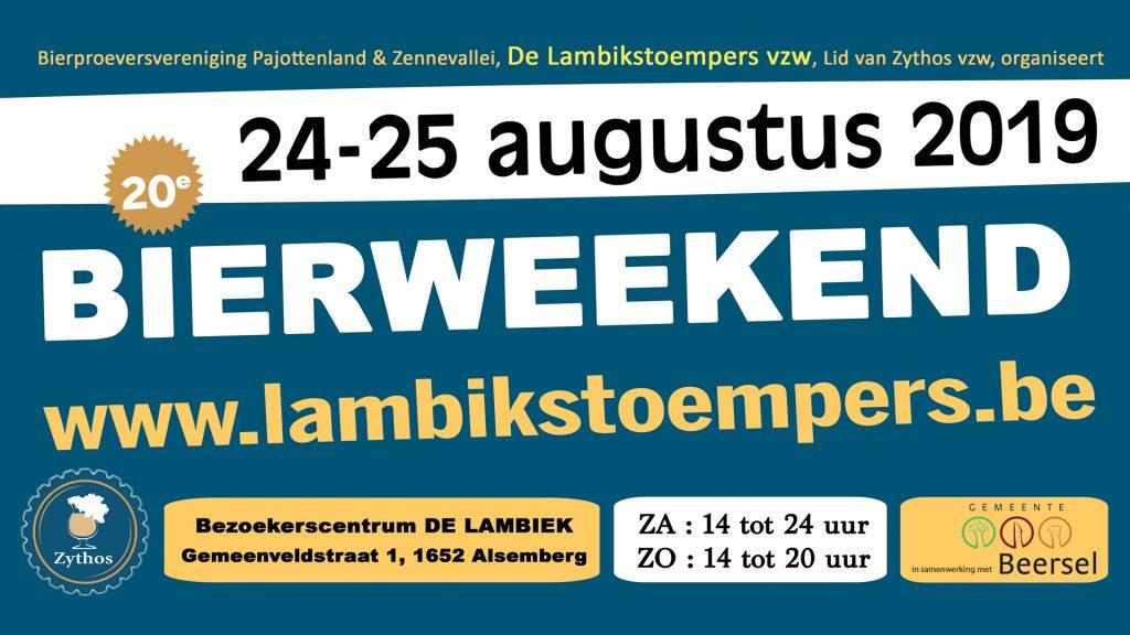 Lambikstoempers Bierweekend 2019