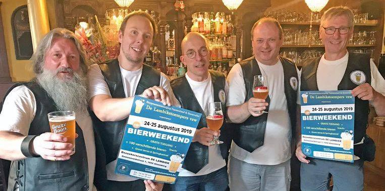 Bierweekend 2019 promoteam