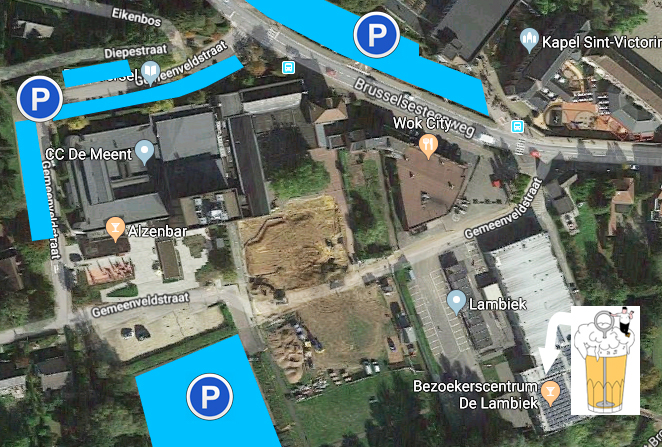 Parkingplan De Lambiek