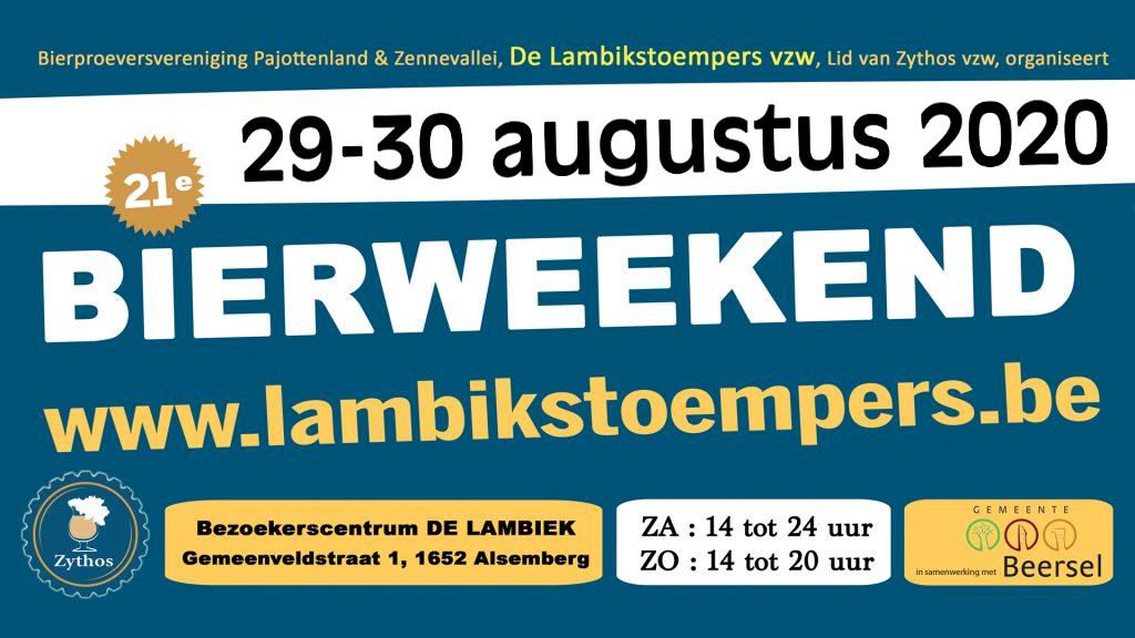 Lambikstoempers Bierweekend 2020