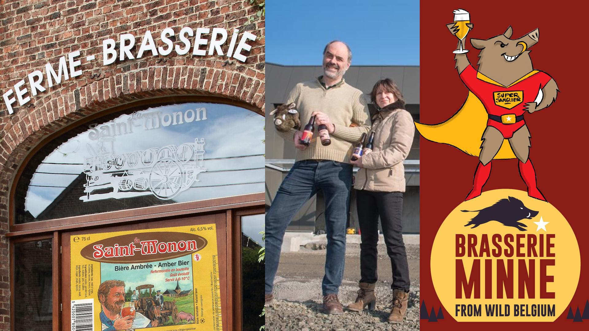 Bezoek brasserie Saint-Monon & brasserie Minne