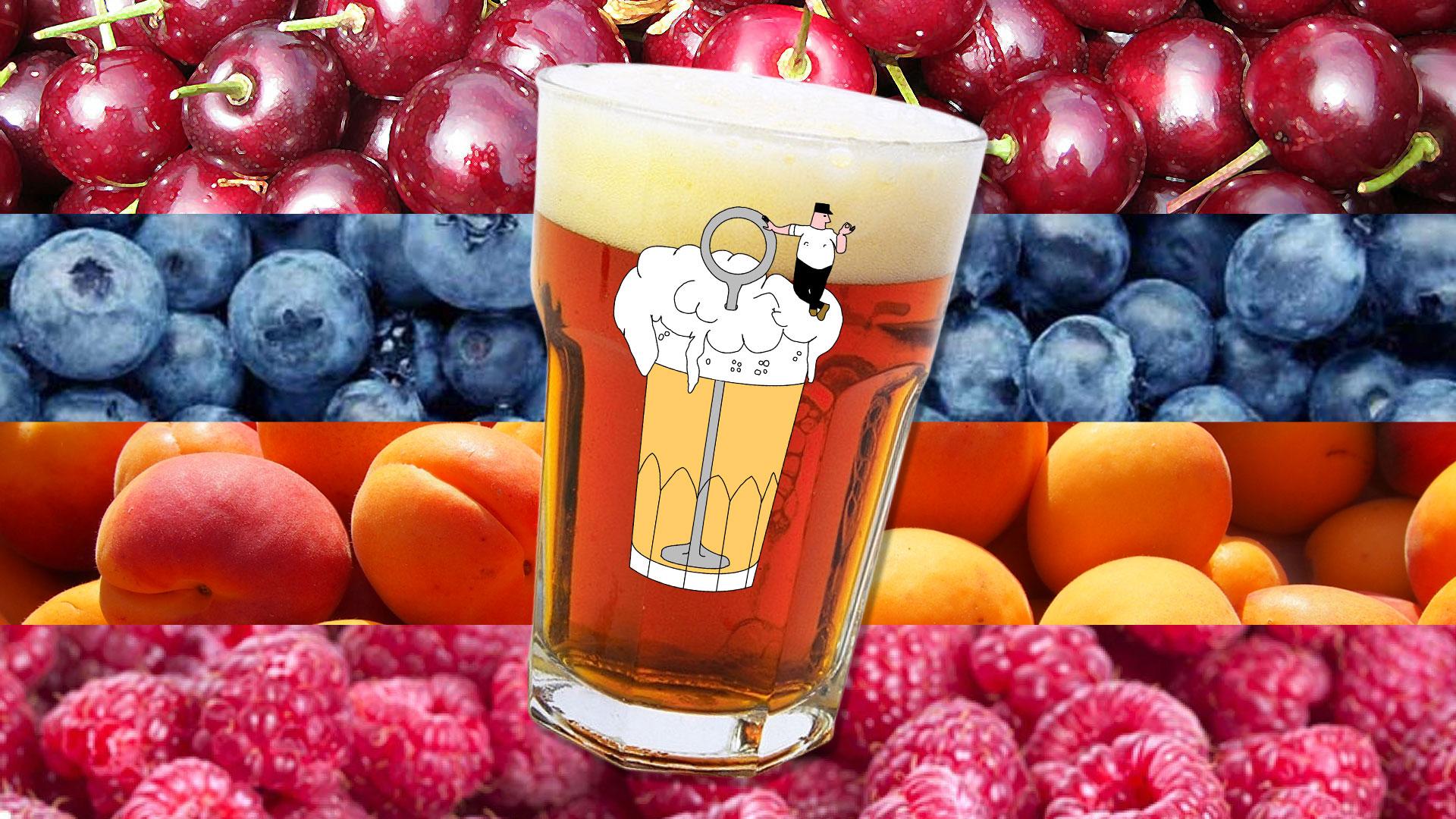 Tasting Fruit Beers