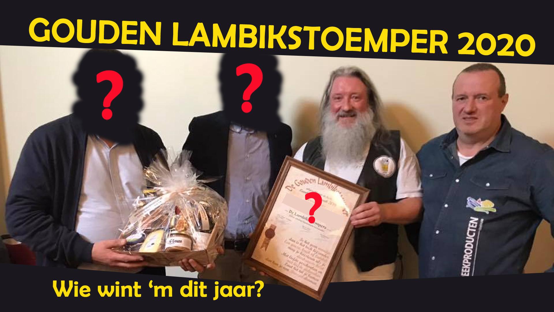 Présentation du Lambikstoemper d'Or 2020
