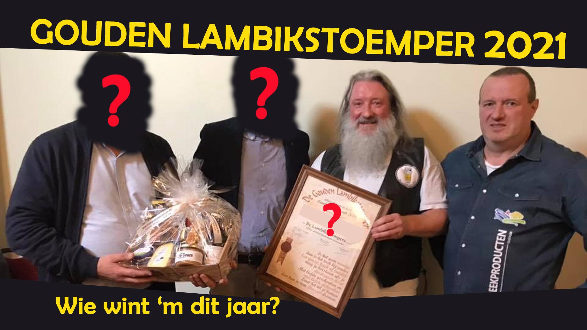 Presentation of the Golden Lambikstoemper 2021