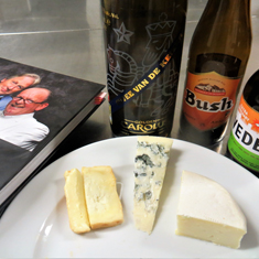 Tasting cheese & beer