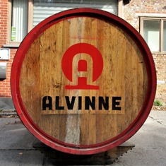 Visit Alvinne brewery